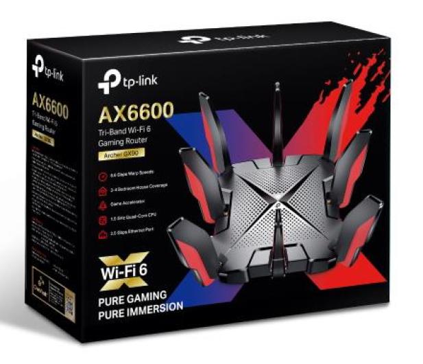 TP-Link Archer GX90 (6600Mb/s a/b/g/n/ac/ax) 2xUSB - 663370 - zdjęcie 4