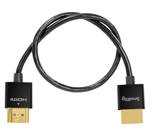 SmallRig Kabel HDMI ultra slim 4K 35cm - 653336 - zdjęcie