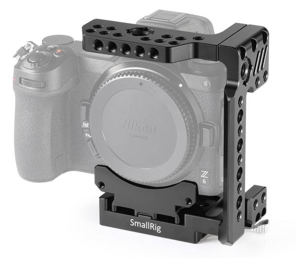 SmallRig Klatka połówkowa do Nikon Z6/Z6II Z7/Z7II - 653559 - zdjęcie