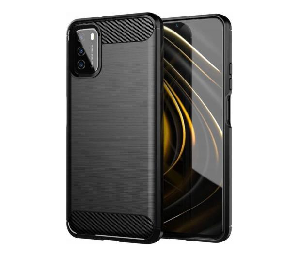 Tech-Protect TPUcarbon do Xiaomi Redmi 9T czarny - 664322 - zdjęcie