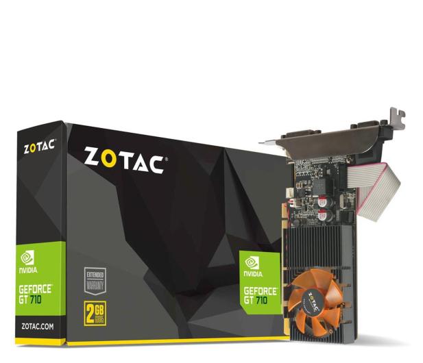 Zotac GeForce GT 710 2GB DDR3 - 661603 - zdjęcie