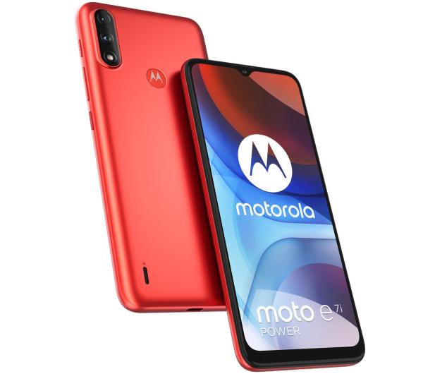 Motorola Moto E7i Power 2/32GB Coral Red - 657162 - zdjęcie 5