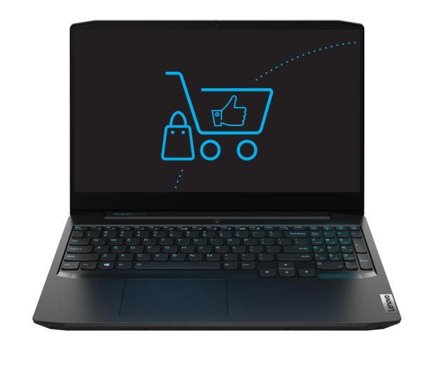 Lenovo IdeaPad Gaming 3-15 R7/8GB/512 GTX1650 120Hz - 653015 - zdjęcie