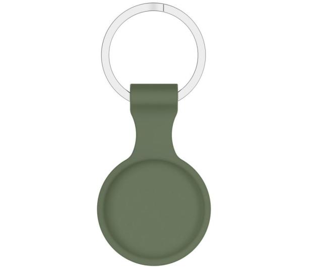 Tech-Protect Silikonowy Brelok do Apple AirTag army green - 652254 - zdjęcie 2
