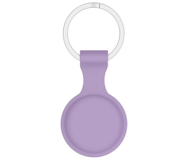 Tech-Protect Silikonowy Brelok do Apple AirTag purple - 652261 - zdjęcie 2