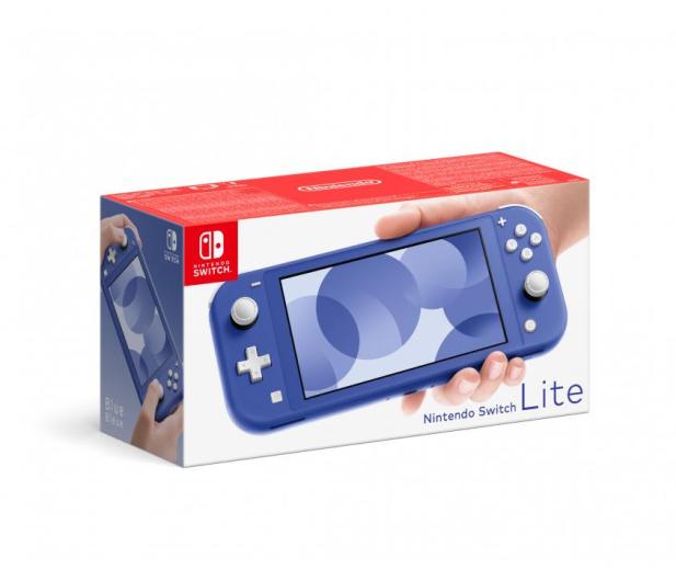 Nintendo Switch Lite - Niebieski - 649842 - zdjęcie 2