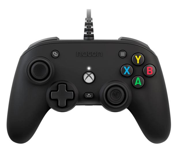 Nacon XS Compact Pro Controller - Czarny - 644285 - zdjęcie