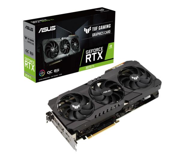 ASUS GeForce RTX 3070 Ti TUF Gaming OC 8GB GDDR6X - 658451 - zdjęcie