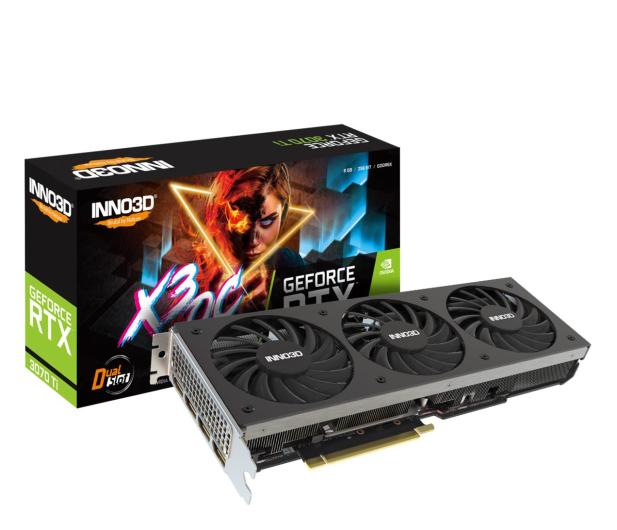 Inno3D GeForce RTX 3070 Ti X3 OC 8GB GDDR6X - 658888 - zdjęcie