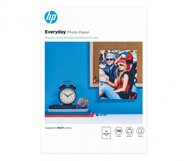 HP Semi-glossy Photo (A4 175g) 100szt. - 31745 - zdjęcie