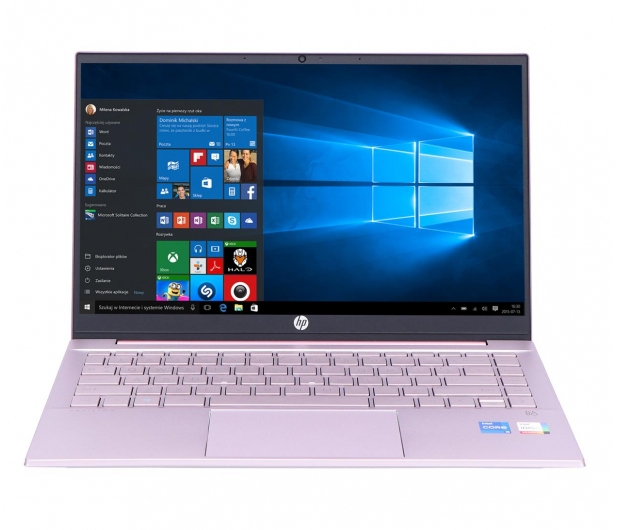 HP Pavilion 14 i5-1135G7/16GB/512/Win10 Pink - 662625 - zdjęcie