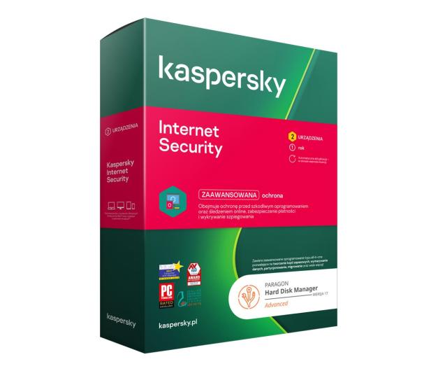 Kaspersky Internet Security 2st/1 + Paragon HDM - 663691 - zdjęcie