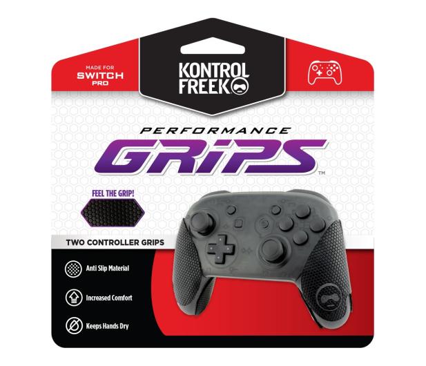 KontrolFreek Performance Grips (Black) - Nintendo Pro - 668802 - zdjęcie
