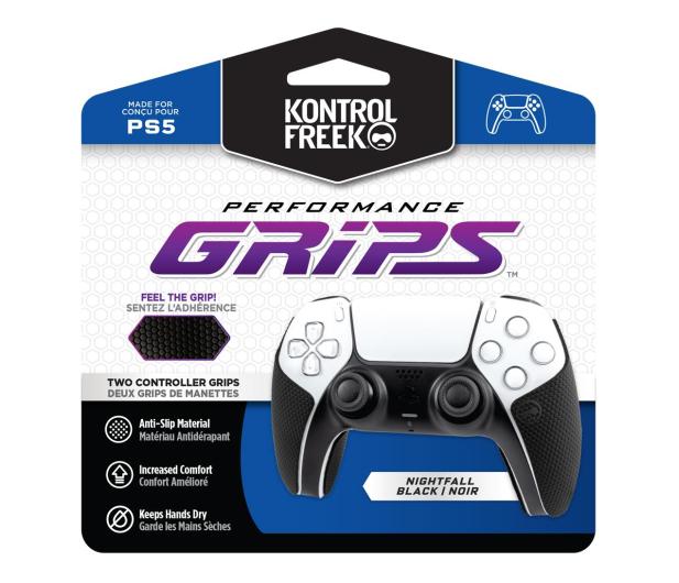 KontrolFreek Performance Grips (Black) - PS5 - 668805 - zdjęcie
