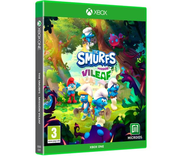 Xbox The Smurfs: Mission Vileaf Edycja Kolekcjonerska - 669658 - zdjęcie 2