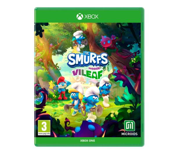 Xbox The Smurfs: Mission Vileaf Edycja Kolekcjonerska - 669658 - zdjęcie