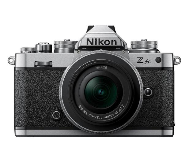 Nikon Z fc + Z 16-50 F3,5-6,3 VR srebrny - 669829 - zdjęcie