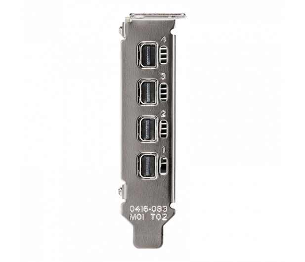 PNY  Quadro T600 4GB GDDR6 - 670405 - zdjęcie 4