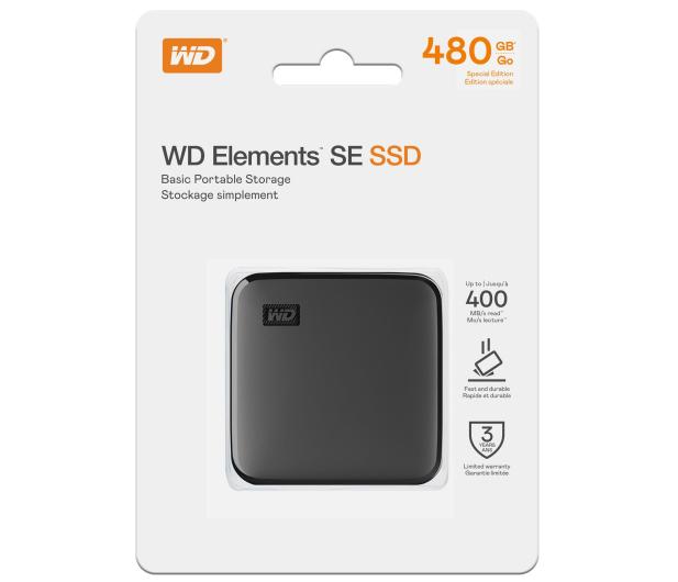WD Elements SE 480GB USB 3.2 Gen. 1 Czarny - 671083 - zdjęcie 5