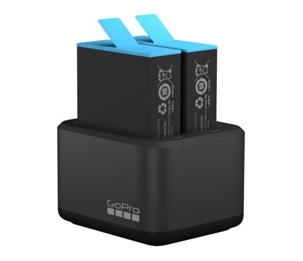 GoPro Dual Charger + Akumulator do HERO9 i HERO10 Black - 671089 - zdjęcie