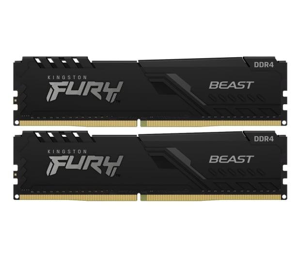 Kingston FURY 32GB (2x16GB) 3600MHz CL18 Beast Black - 667525 - zdjęcie