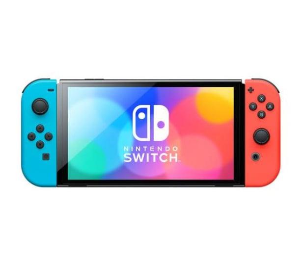 Nintendo Switch OLED - Czerwony / Niebieski - 667576 - zdjęcie 3