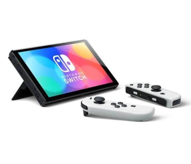 Nintendo Switch OLED - Biały - 667577 - zdjęcie 6