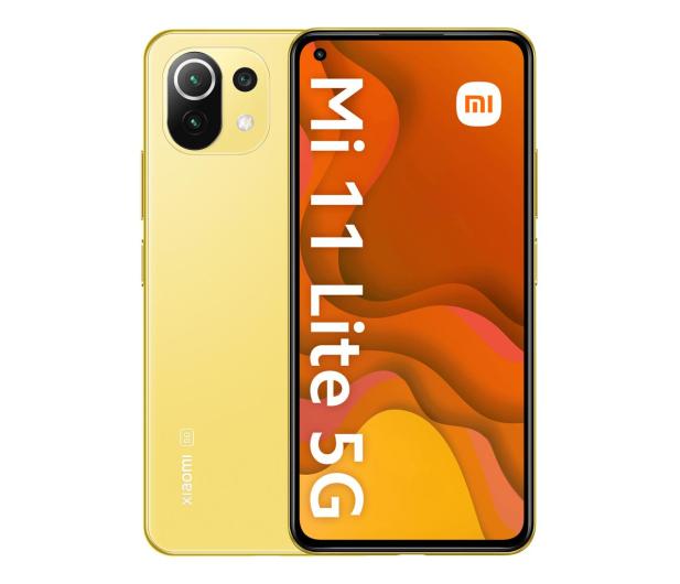 Xiaomi Mi 11 Lite 5G 8/128GB Citrus Yellow - 649092 - zdjęcie