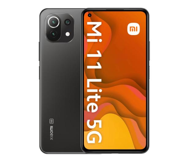 Xiaomi Mi 11 Lite 5G 8/128GB Truffle Black - 649089 - zdjęcie