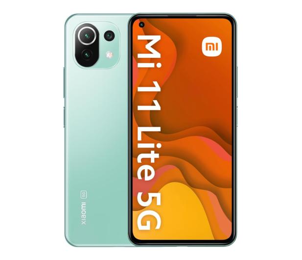 Xiaomi Mi 11 Lite 5G 6/128GB Mint Green  - 649087 - zdjęcie