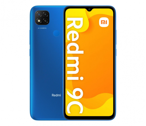 Xiaomi Redmi 9C NFC 3/64GB Twilight Blue - 643199 - zdjęcie