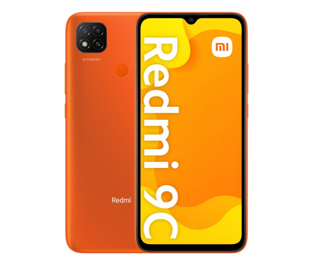 Xiaomi Redmi 9C NFC 3/64GB Sunrise Orange - 638052 - zdjęcie
