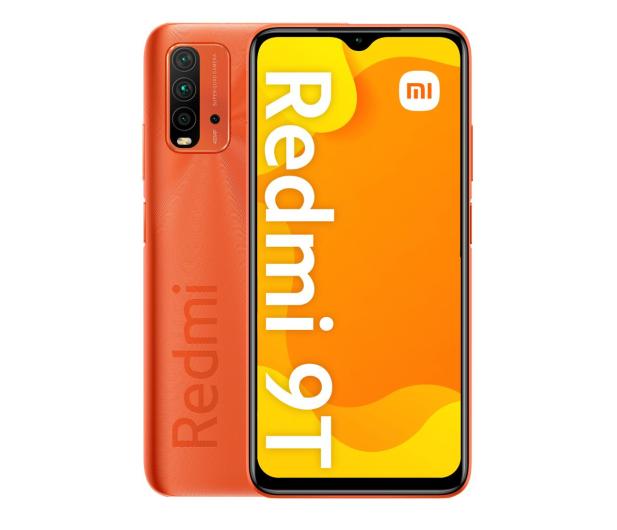 Xiaomi Redmi 9T NFC 4/128GB  Sunrise Orange  - 637301 - zdjęcie