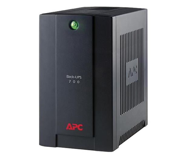 APC Back-UPS (700VA/390W, 3xFR, USB, AVR) - 260372 - zdjęcie