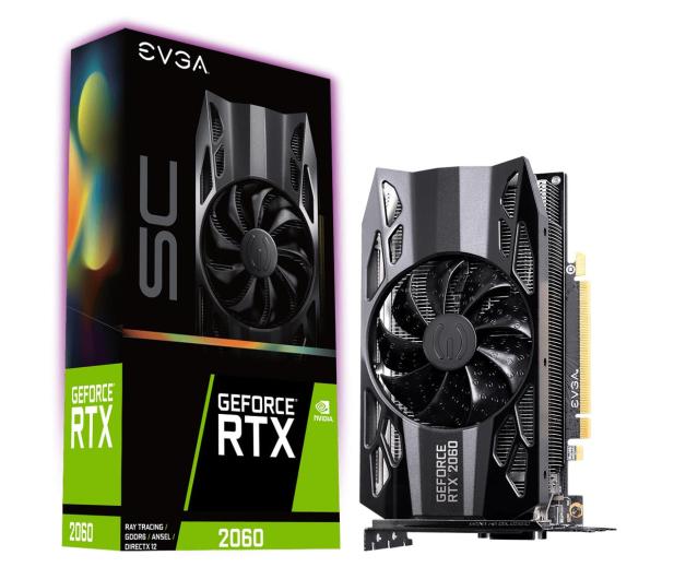 EVGA GeForce RTX 2060 SC OC 6GB GDDR6 - 667648 - zdjęcie