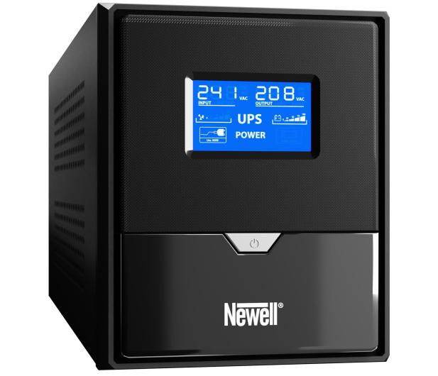Newell UPS U1000 (1000VA/600W, 3x Schuko, LCD)  - 655270 - zdjęcie 2