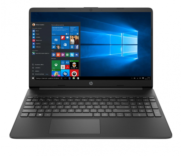 HP 15s i3-1115G4/8GB/256/Win10 Black - 673735 - zdjęcie