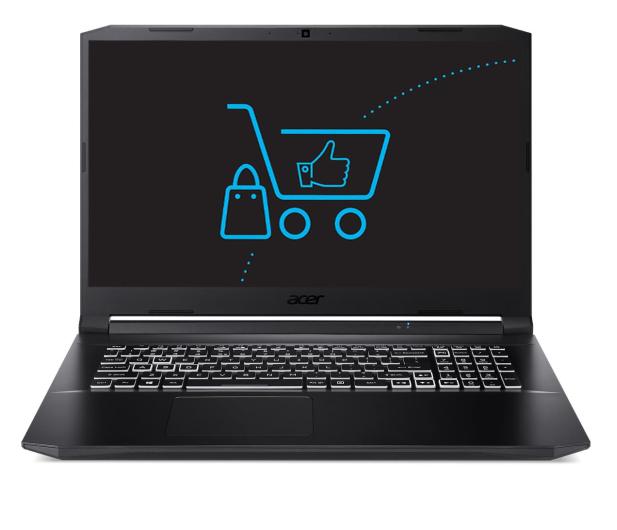 Acer Nitro 5 R7-5800H/32GB/512 RTX3060 144Hz  - 675215 - zdjęcie