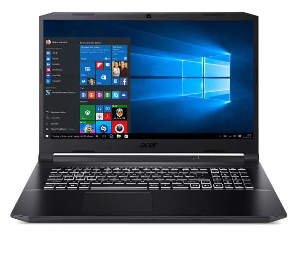 Acer Nitro 5 R7-5800H/16GB/512/W10X RTX3060 144Hz  - 675216 - zdjęcie