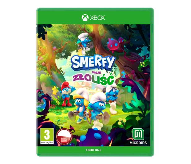 Xbox Smerfy: Misja Złoliść Edycja Smerfastyczna - 669657 - zdjęcie