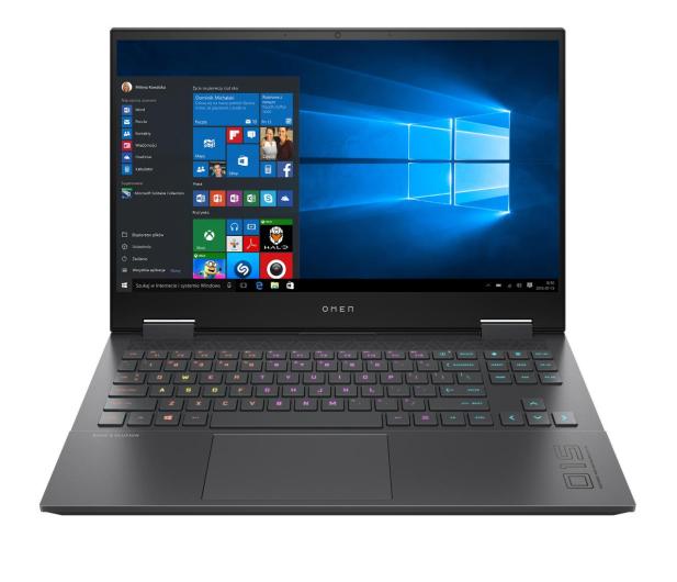 HP OMEN 15 Ryzen 7-5800H/16GB/512/W10x RTX3070 144Hz - 676377 - zdjęcie