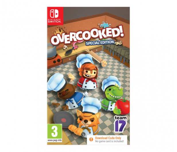 Switch Overcooked Special Edition  - 677744 - zdjęcie