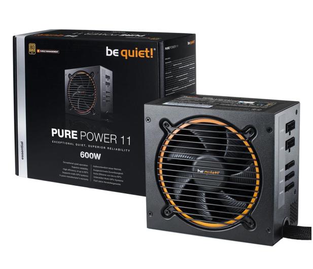 be quiet! Pure Power 11 CM 600W 80 Plus Gold - 459598 - zdjęcie 3