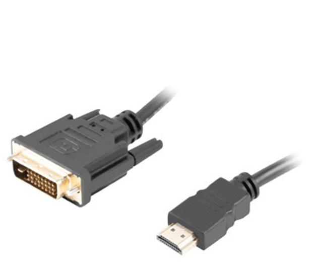 Lanberg Kabel HDMI(M) - DVI-D(M)(24+1) 1.8m, 4K/30HZ - 672612 - zdjęcie