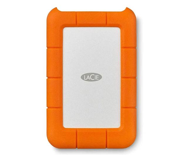 LaCie Rugged Mini 4TB USB 3.2 Gen. 1 Pomarańczowo-Szary - 298291 - zdjęcie