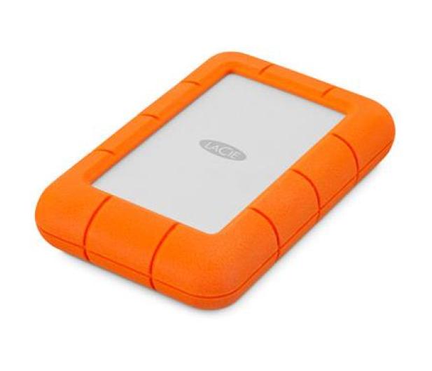 LaCie Rugged Mini 4TB USB 3.2 Gen. 1 Pomarańczowo-Szary - 298291 - zdjęcie 2