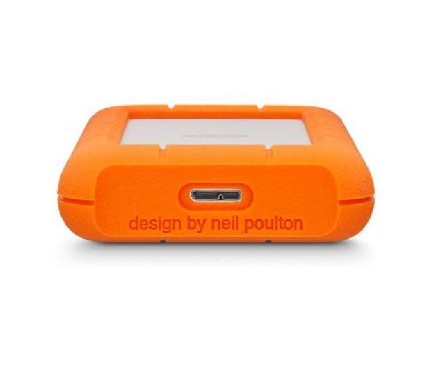 LaCie Rugged Mini 4TB USB 3.2 Gen. 1 Pomarańczowo-Szary - 298291 - zdjęcie 4