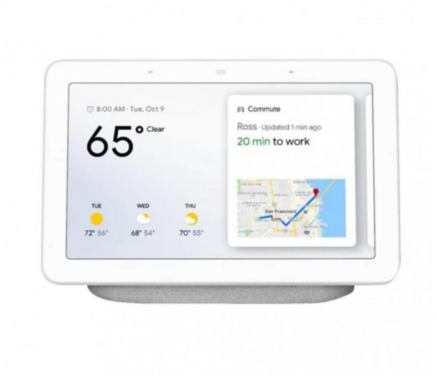 Google Nest Hub biały  - 672518 - zdjęcie