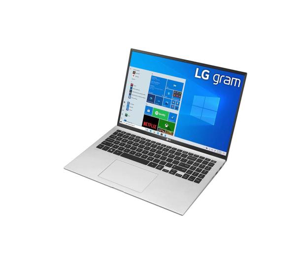 LG GRAM 2021 16Z90P i5 11gen/16GB/512/Win10 srebrny - 639069 - zdjęcie 4