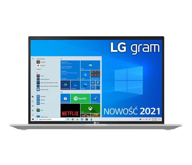 LG GRAM 2021 14Z90P i5 11gen/16GB/512/Win10 srebrny - 639030 - zdjęcie 3